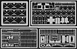 UH60L Interior Detail for Academy -- Plastic Model Aircraft Accessory -- 1/32 Scale -- #32071