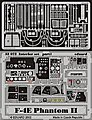 F4E Phantom II Interior -- Plastic Model Aircraft Accessory -- 1/32 Scale -- #32503