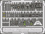 F16CJ Fighting Falcon Interior Details -- Plastic Model Aircraft Accessory -- 1/32 Scale -- #32523