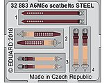 Seatbelts A6M5c Steel for HSG (Painted) -- Plastic Model Aircraft Accessory -- 1/32 -- #32883