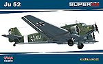 Ju52 Fighter -- Plastic Model Airplane Kit -- 1/144 Scale -- #4424
