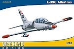 L39C Aircraft (Weekend Edition) -- Plastic Model Airplane Kit -- 1/72 Scale -- #7418