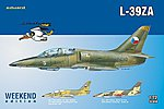 L39ZA Aircraft (Weekend Edition) -- Plastic Model Airplane Kit -- 1/72 Scale -- #7427