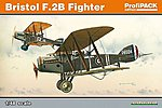 Bristol F2B BiPlane Fighter (Profi-Pack Kit) -- Plastic Model Airplane -- 1/48 Scale -- #8127