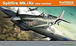 Spitfire Mk IXc Late Version Aircraft -- Plastic Model Airplane Kit -- 1/48 Scale -- #8281