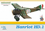 Hanriot HD1 BiPlane (Weekend Edition) -- Plastic Model Airplane Kit -- 1/48 Scale -- #8412