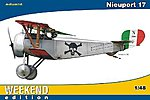 Nieuport Ni17 BiPlane Fighter (Weekend Edition) -- Plastic Model Airplane Kit -- 1/48 Scale -- #8432