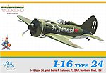 I16 Type 24 Fighter 72.SAP Northern Fleet 1941 -- Plastic Model Airplane Kit -- 1/48 Scale -- #8468