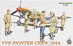 VVS Fighter Crew 1944 -- Plastic Model Military Figure Kit -- 1/48 Scale -- #8509