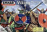 9th-10th Century Viking Warriors (50) -- Plastic Model Military Figure Kit -- 1/72 Scale -- #7205