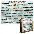 WWII Aircraft Collage (1000pc) -- Jigsaw Puzzle 600-1000 Piece -- #60075