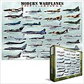 Modern Warplanes Collage (1000pc) -- Jigsaw Puzzle 600-1000 Piece -- #60076