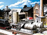 Diesel Fuel Facility -- HO Scale Model Railroad Building -- #120157