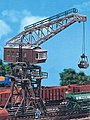 Gantry Crane Kit -- HO Scale Model Railroad Accessory -- #120162