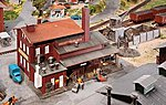 Coal/Fuel Handling Business Kit -- HO Scale Model Railroad Building -- #120253