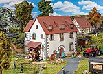 Castle Mill -- HO Scale Model Railroad Building -- #130189