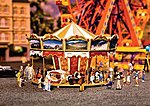 Children's Merry Go Round Kit -- HO Scale Model Railroad Building -- #140316
