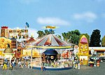 Children's Merry-Go-Round -- HO Scale Model Railroad Building -- #140329