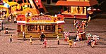 Candy & Balloon Booths Kit -- HO Scale Model Railroad Building -- #140353