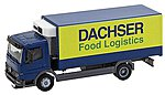 MB Atego Dacher Food Log -- HO Scale Model Railroad Vehicle -- #161555