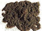 Dark Brown Grass Fiber -- Model Railroad Grass Earth -- #170727