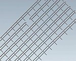 Iron Railing Fence -- HO Scale Model Railroad Building Accessory -- #180403
