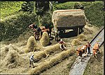 Hay Harvest Kit -- HO Scale Model Railroad Building Accessory -- #180561