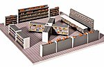 Retail Store Interior Equipment -- HO Scale Model Railroad Building Accessory -- #180565