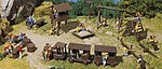 Adventure Playground Kit -- HO Scale Model Railroad Building Accessory -- #180577