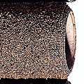 Dark Brown Ballast Ground Mat -- Model Railroad Scenery -- #180785