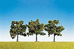 Apple Fruit Trees (3) -- Model Railroad Tree -- #181403
