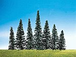 Assorted Fir Trees (50) -- Model Railroad Tree -- #181464