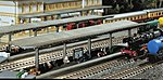 Platforms Kit (2) -- N Scale Model Railroad Accessory -- #222126