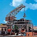Coaling Station Kit -- N Scale Model Railroad Building -- #222137