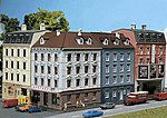 Corner House Weathered Model -- N Scale Model Railroad Building -- #232262