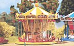 Chairoplane with Motor -- N Scale Model Railroad Building -- #242315