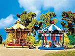Merry-Go-Round -- N Scale Model Railroad Building -- #242316