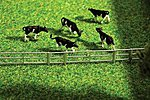 Fence System for Stalls & Open Stable Farm -- N Scale Model Railroad Accessory -- #272408
