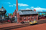 Engine Repair Shed -- Z Scale Model Railroad Building -- #282733