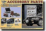 Auto Interior -- Plastic Model Vehicle Accessory Set -- 1/24 Scale -- #11041