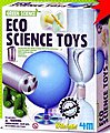 Eco Science Toys Green Science Kit -- Science Engineering Kit -- #3773