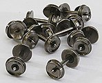 36'' Wheels .526'' Axle 12/ - N-Scale (12)