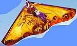 42''x22'' Dragon Wizard Delta Wing Kite -- Single-Line Kite -- #110