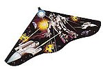 42''x22'' Solar Max Delta Wing Kite -- Single-Line Kite -- #114