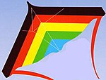 48''x31'' Stuntmaster Stunt Kite -- Single-Line Kite -- #337