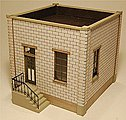 The Cube Office Kit -- HO Scale Model Building -- #1902