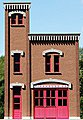 Firehouse #3 Backdrop Kit -- HO Scale Model Building -- #190241