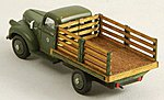 Stakebed Truck Body - Laser-Cut Wood Kit - Fits Classic Metal Works 1941/46 Chevrolet -- #19050