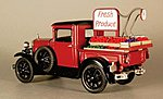 Produce Truck Bed Kit -- O Scale Model Vehicle -- #322321
