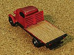 TNSA Truck Bed (Flat) -- Z Scale Model Railroad Vehicle -- #52782
